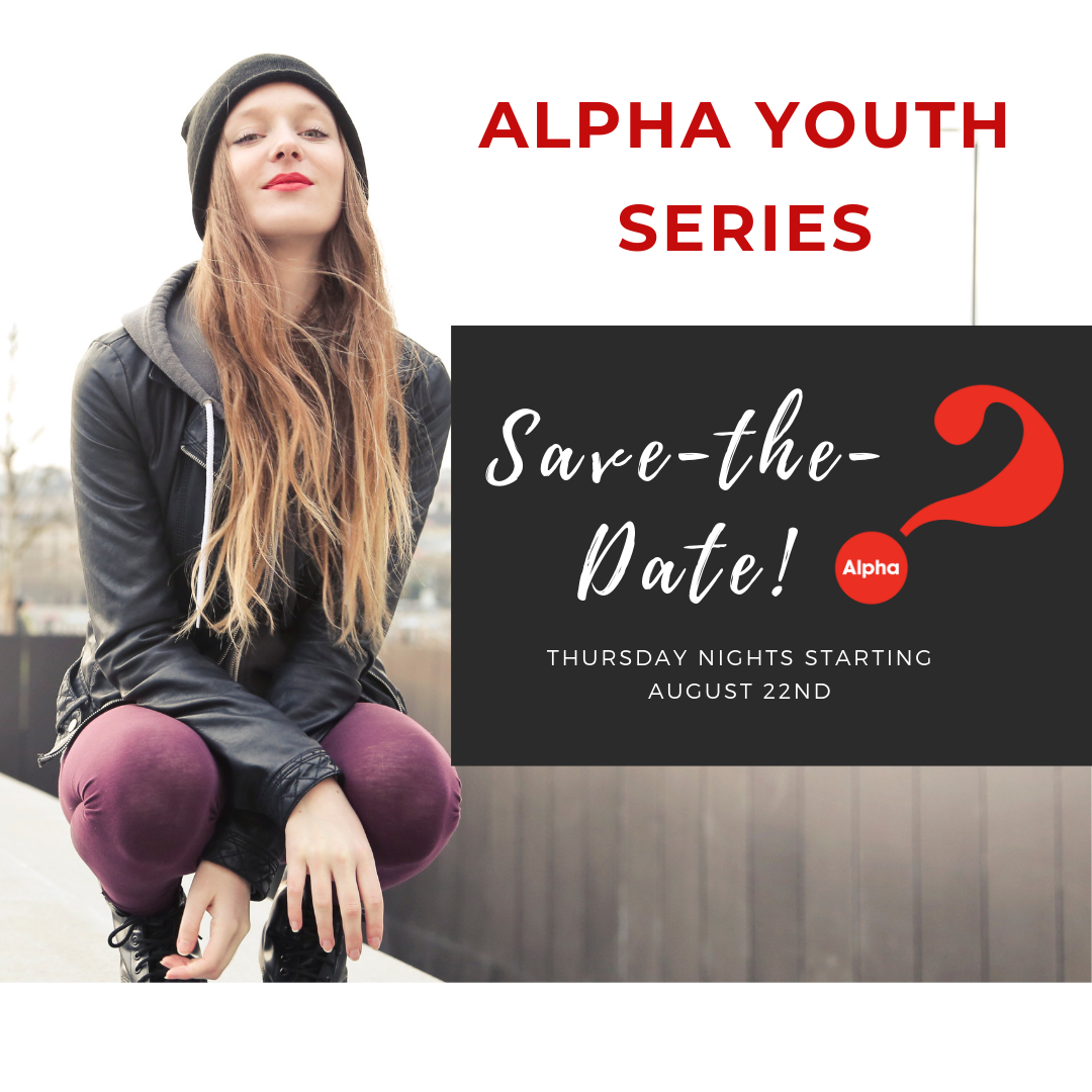 Save-the-Date! Alpha