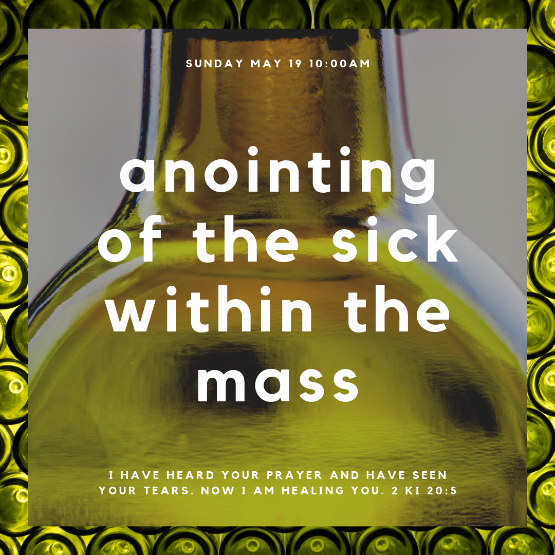 anointing of the sick within the mass