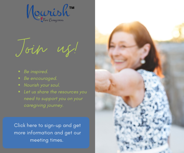 nourish for caregivers join us